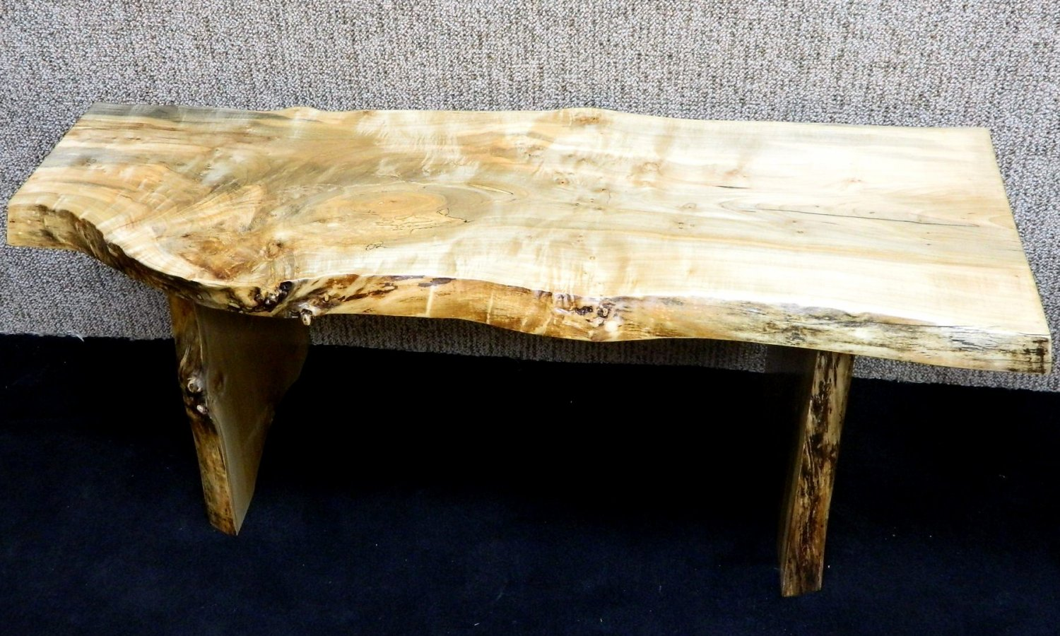 Super Fiddleback Figured Ambrosia Maple Bench/Coffee Table Lumber Furniture 10052