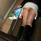 LOT 3 Sexy Asian Japanese Public Upskirt Up Skirt Erotic Voyeur Candid oops 6h!