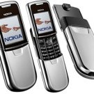 NEW NOKIA 8800 GSM UNLOCKED NEW IN BOX  SILVER