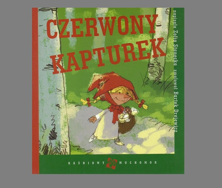 LITTLE RED RIDING HOOD POLISH LANGUAGE CHILDRENS CLASSIC STORY BOOOK