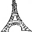 Eiffel Tower Return Address Labels