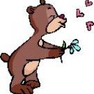 Kissing Bear Return Address Labels