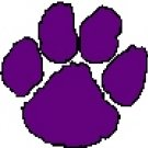 Purple Paw Address Labels