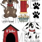 Dogs Fido1-Emailed as JPEG File-Commercial and Personal Use
