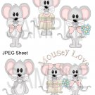 Cute Mice 1-Emailed as JPEG File-Commercial and Personal Use