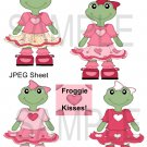 Froggie Girls 1-Emailed as JPEG File-Commercial and Personal Use