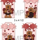 Valentine Bears 1-Hang Tags-Emailed as JPEG File-Commercial and Personal Use