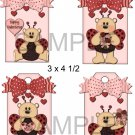 Valentine Bears 2-Hang Tags-Emailed as JPEG File-Commercial and Personal Use