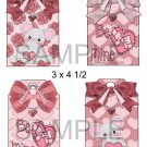 Valentine Mice 1-Hang Tags-Emailed as JPEG File-Commercial and Personal Use