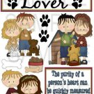 Animal Lover-Single-Emailed as JPEG File-Commercial and Personal Use