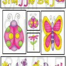 Snuggle Bug/Cute As A Bug-T&B-Emailed as JPEG File-Commercial and Personal Use