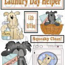 Laundry Day Helper - Emailed as JPEG File-Commercial and Personal Use