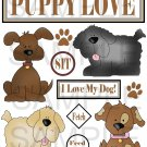 Puppy Love - Emailed as JPEG File-Commercial and Personal Use