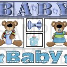 Baby Boy a - Emailed as JPEG File-Commercial and Personal Use