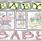 Baby Girl c - Emailed as JPEG File-Commercial and Personal Use
