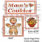 Mom's Cookies - Emailed as JPEG File-Commercial and Personal Use