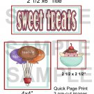 Sweet Treats - Emailed as JPEG File-Commercial and Personal Use