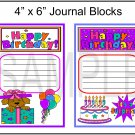 Happy Birthday 1 and 2 JB - Emailed as JPEG File-Commercial and Personal Use