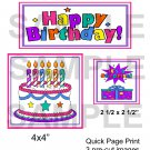Happy Birthday QP- Emailed as JPEG File-Commercial and Personal Use