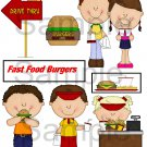 Fast Food Burgers 1 - Emailed as JPEG File-Commercial and Personal Use