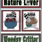 Nature Lover/Woodsy Critter tb - Emailed as JPEG File-Commercial and Personal Use