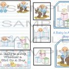 A Baby Is A Joy Boy sc - Emailed as JPEG File-Commercial and Personal Use