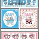 Baby Boy/Baby Girl tb - Emailed as JPEG File-Commercial and Personal Use