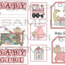Baby Girl 1 sc - Emailed as JPEG File-Commercial and Personal Use