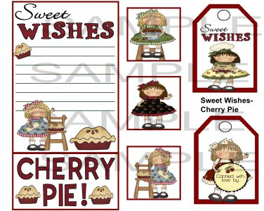 Sweet Wishes Cherry Pie sc - Emailed as JPEG File-Commercial and Personal Use