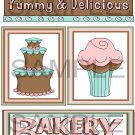 Yummy and Delicious/Bakery Delights - Emailed as JPEG File-Commercial and Personal Use