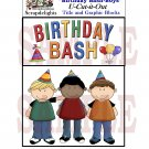 Birthday Bash Boys - Emailed as JPEG File-Commercial and Personal Use