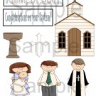 Baptism Boy - Emailed as JPEG File-Commercial and Personal Use