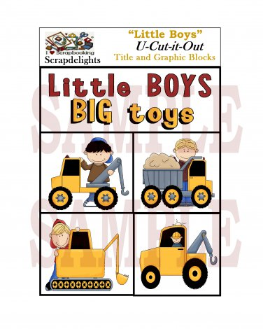 Little Boys - Emailed as JPEG File-Commercial and Personal Use