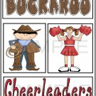 Buckaroo/Cheerleader - Emailed as JPEG File-Commercial and Personal Use