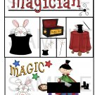 Magician- Emailed as JPEG File-Commercial and Personal Use