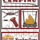 Camping/Marshmallows tb - Emailed as JPEG File-Commercial and Personal Use