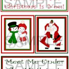 All I Want for Christmas/Meet Me Under,, - Emailed as JPEG File-Commercial and Personal Use