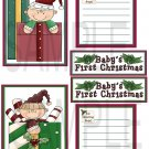 Baby's First Christmas jb - Emailed as JPEG File-Commercial and Personal Use