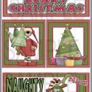Beary Christmas/Naughty and Nice tb - Emailed as JPEG File-Commercial and Personal Use