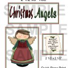 Christmas Angels - Emailed as JPEG File-Commercial and Personal Use