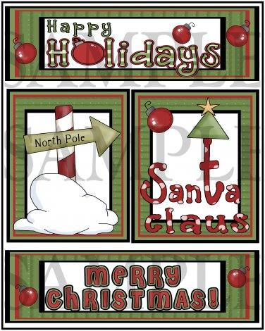 Happy Holidays tb- Emailed as JPEG File-Commercial and Personal Use