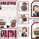 Merry Christmas Boy.Girl sc - Emailed as JPEG File-Commercial and Personal Use
