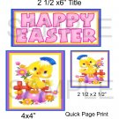 Happy Easter Chick qp -  Emailed as JPEG File-Commercial and Personal Use