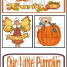 Give Thanks/Our Little Pumpkin tb -  Emailed as JPEG File-Commercial and Personal Use