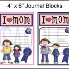 I Love Mom Boy/Girl jb -  Emailed as JPEG File-Commercial and Personal Use
