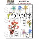 Diva's s -  Emailed as JPEG File-Commercial and Personal Use