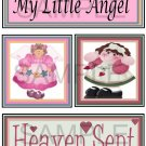My Little Angel/Heaven Sent tb -  Emailed as JPEG File-Commercial and Personal Use