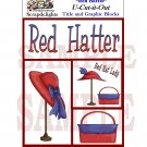 Red Hatter uc -  Emailed as JPEG File-Commercial and Personal Use