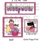 Sleepover qp -  Emailed as JPEG File-Commercial and Personal Use