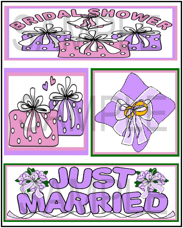 Bridal Shower/Just Married Jb Uc